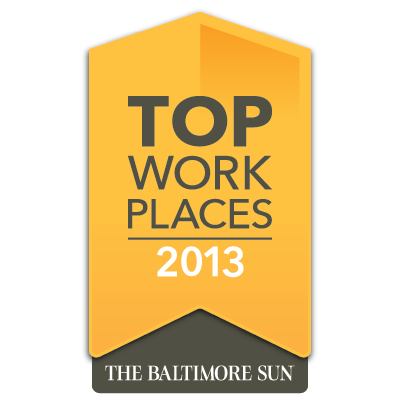 Baltimore Sun Top Places to Work 2013
